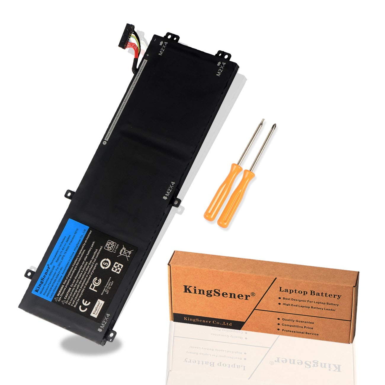 Bateria RRCGW M7R96 62MJV para Dell XPS 15 9550 Precision 55