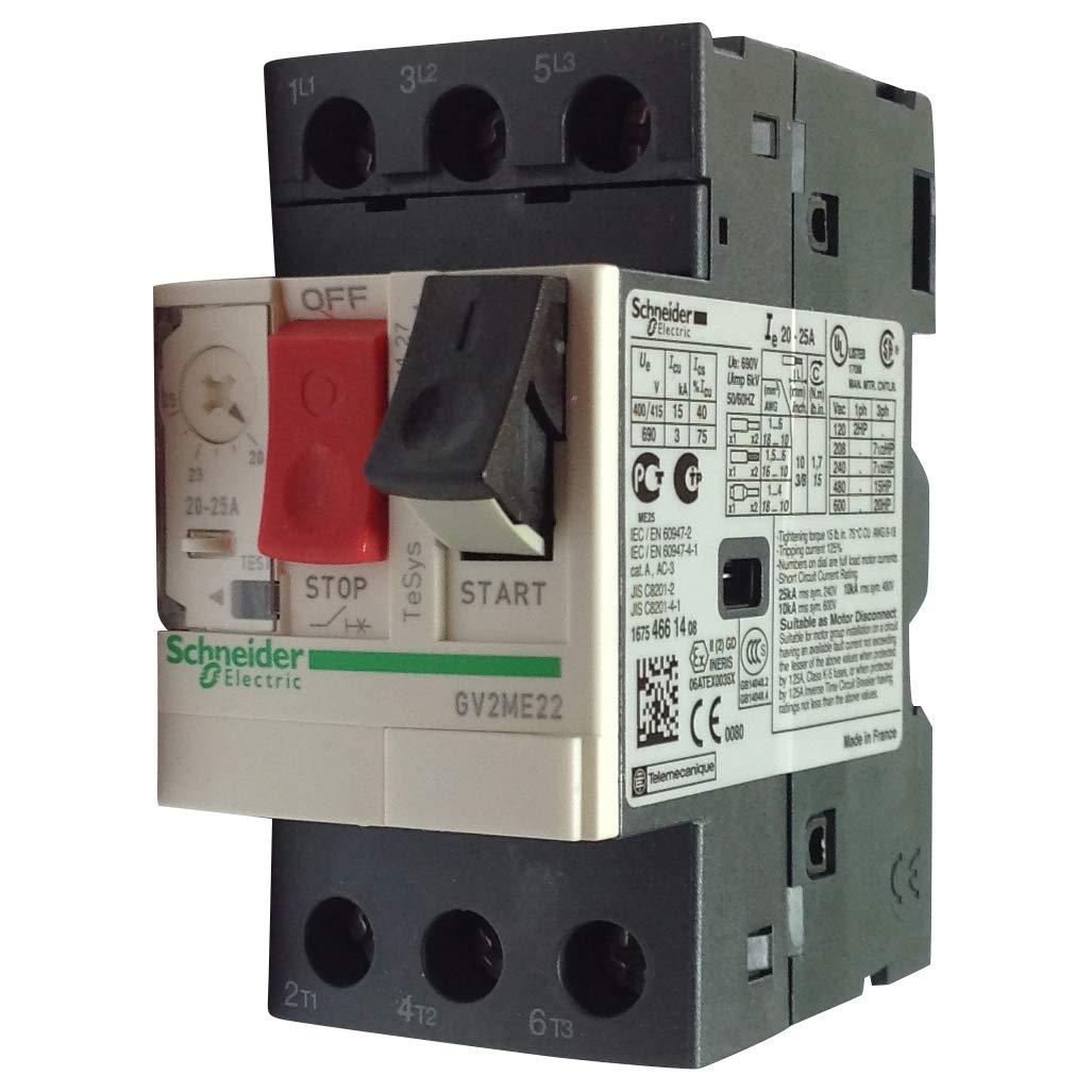 Our shop most popular Telemecanique Gv2Me22 Gv2 Me22 70% OFF Outlet Motor Starter