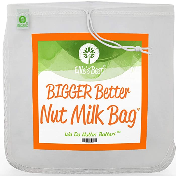 The Best Food Grade Nylon Nut Milk Bag Large