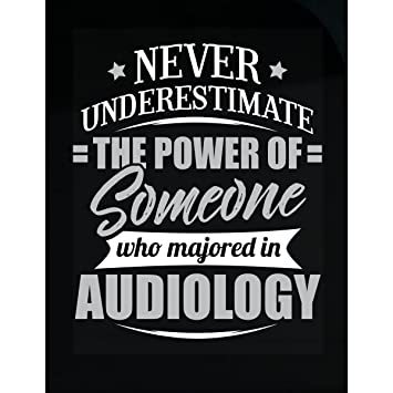 Amazon.com: Audiology Major Graduate Gift Never Underestimate ...