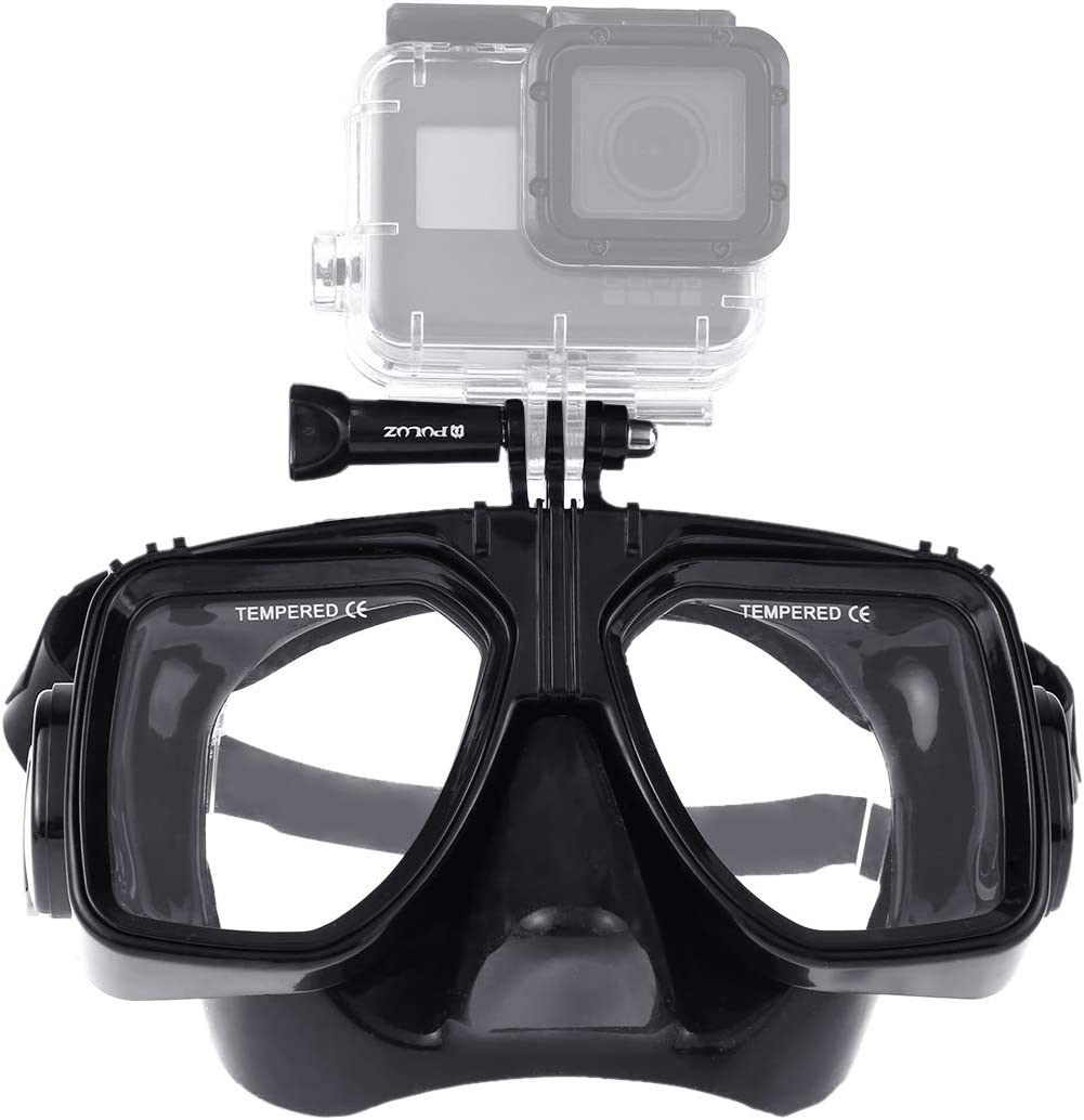 Xiaoyi and Other Acti GoPro HERO7 //6//5 //5 Session //4 Session //4//3+ //3//2 //1 Compatible with DJI Osmo Action Water Sports Diving Equipment Diving Mask Swimming Glasses for DJI Gopro Action Camera
