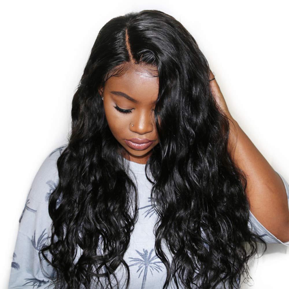 Amazon.com   Dolago 360 Lace Frontal Wig Body Wave for Black Women ... 9954415fc