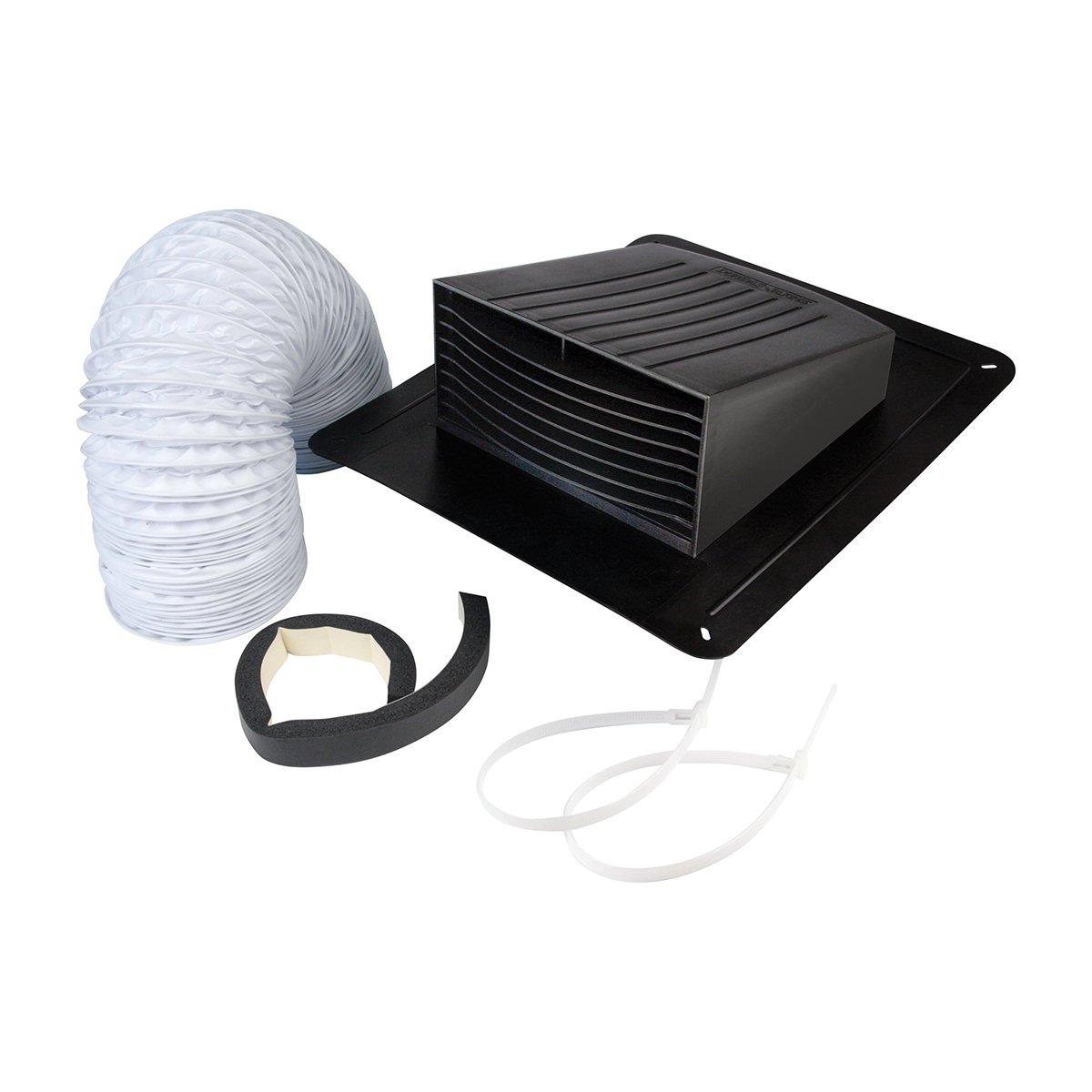 Dundas Jafine EXRT Bathroom Fan Vent Kit - Roof Style, 4''