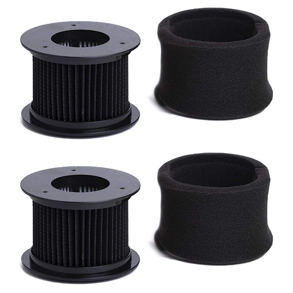 Green Label 2 Pack for Bissell PowerEdge Vacuum Filter Kit, Washable and Reusable (compares to 54A2)