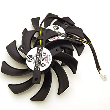 Amazon.com: pld09210d12hh 12 V, 0,4 A 85 mm 4 Pin ...