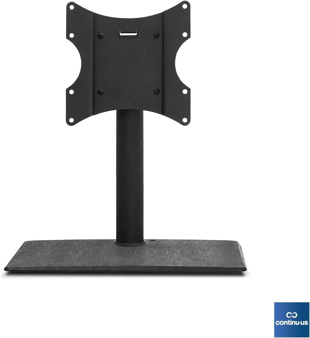 Universal Standing TV Swivel Stand for TVs up to 42 Continu.us Tabletop Height Adjustable, Free-Standing, Swiveling Mount. Features Theft Prevention Child Safety Locking.