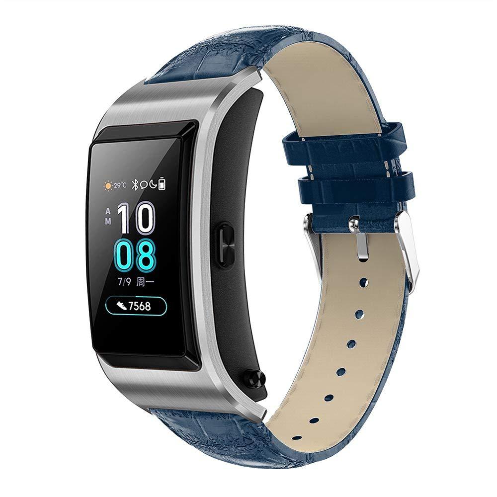 XIHAMA Correa 18mm para Smartwatch, Bracelet de Cuero para ...
