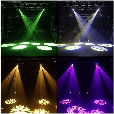 QAZWSXE Navidad Luces De La Decoración, 60W RGB LED Spotlight ...
