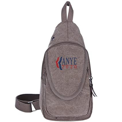 Best Crossbody Bags For Travel 2020 Amazon.: Kanye West For President 2020 Canvas Chest Pack