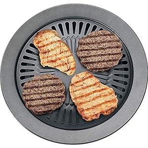 Maxam KTGR5X2 Chefmaster Smokeless Indoor Stovetop Barbeque Grills (2 Pack)