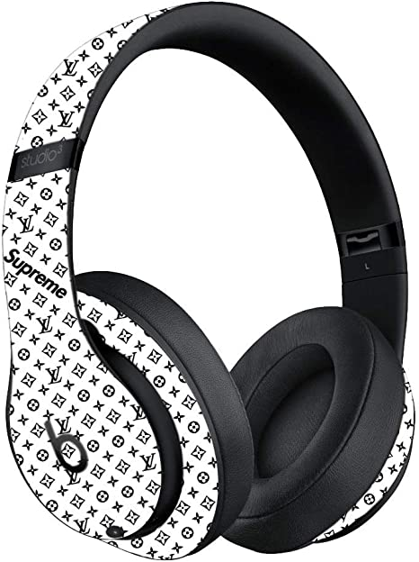 Amazon Com Custom Skin Decal For Beats Studio3 Wireless Beats By Dre Decal Only Device Is Not Included Vinyl Wrap Protective Sticker By Vcg Customs White Edition Computers Accessories
