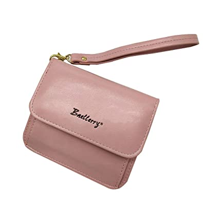703e2e41def5 二つ折り財布 レディース 小銭入れ 大容量 オシャレ ハンドストラップ付き ボックス型短財布