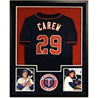 $423 » Signed Rod Carew Jersey - Custom Framed Pro Edition) - JSA Certified - Autographed MLB Jerseys