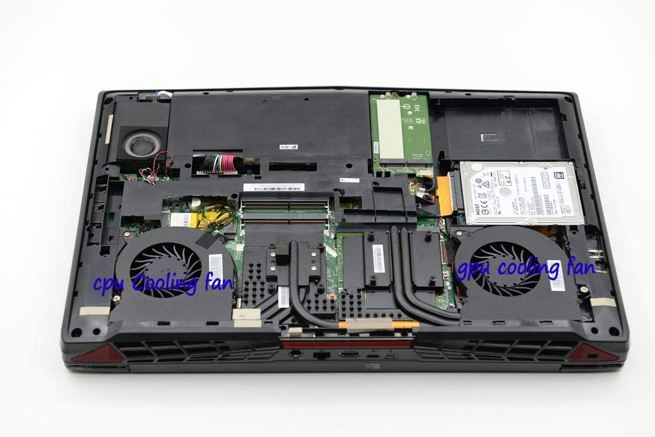 HK-part Fan Replacement for MSI GT72 2PE 2QE GT72S GT72VR 6RE 6RD 7RE 7RD MS-1781 MS-1782 CPU Gpu Fan Set