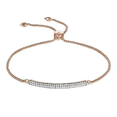 Thehorae Rose Gold Bangle Adjustable Bracelets Valentine S Day