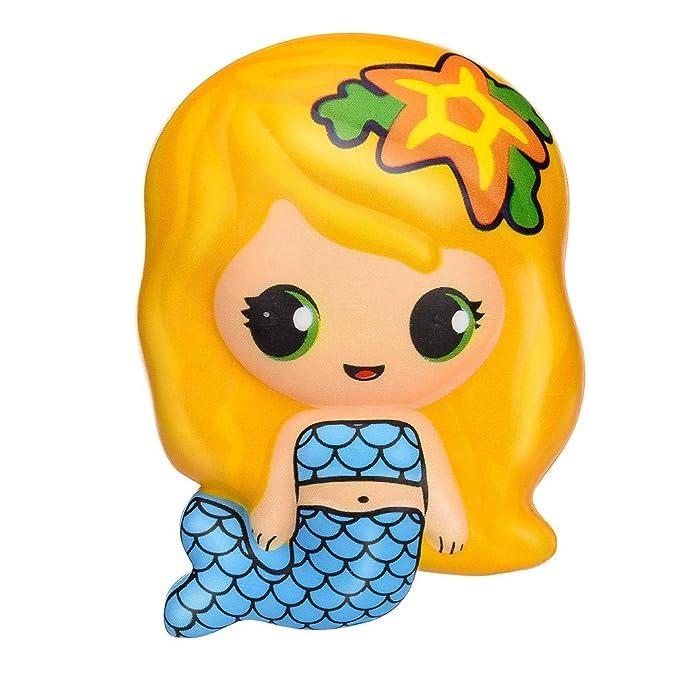 Bestow Cartoon Mermaid Decompression Toy Slow Rebound PU Toy ...