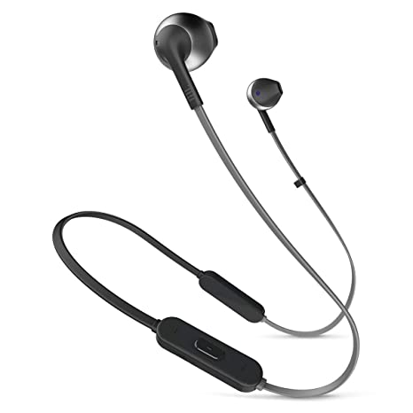 b011ee33827 Amazon.com: JBL Lifestyle TUNE 205BT In-Ear Bluetooth Earphones with  Remote, Black: Home Audio & Theater