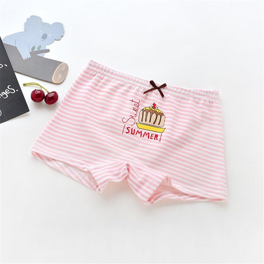 JIEYA Baby Kids Girls Cotton Boxer Briefs Underwear Training Pants,Pack of 5