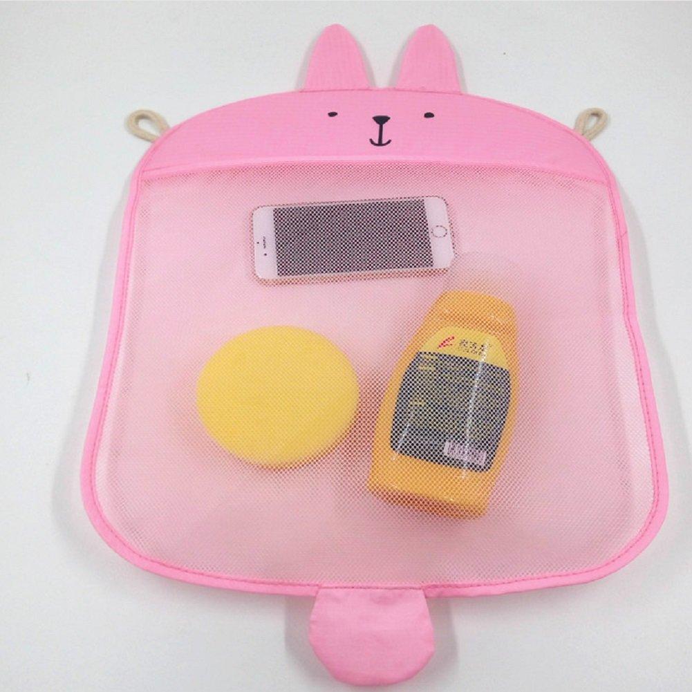 Netz f/ür badewannenspielzeug H/ängeaufbewahrung Bad Spielzeug Aufbewahrung Badewannen Aufbewahrungsnetz Bad Organizer Kinder H/ängen Aufh/ängen Badespielzeug Aufbewahrung
