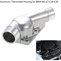 KKmoon 11531722531 Carcasa de Termostato de Aluminio