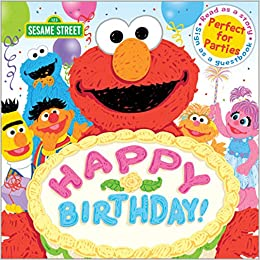 A Birthday Party Book Sesame Street Scribbles Workshop 0760789261367 Amazon Books