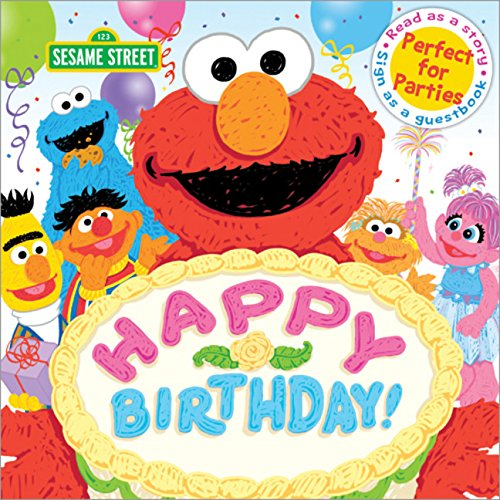 (Happy Birthday!: A Birthday Party Book (Sesame Street Scribbles))