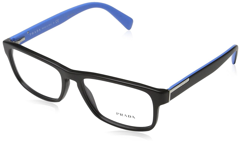 d3f4a8ac135a Amazon.com: Prada PR07PV Eyeglass Frames 1BO1O1-5617 - Matte Black  PR07PV-1BO1O1-56: Shoes