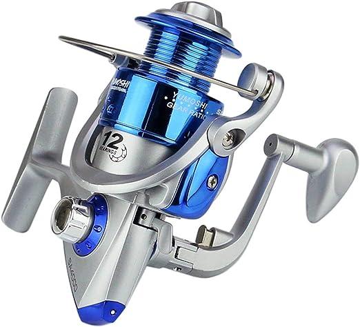 Pez Spinning Reel 5.5:1 12BB 1000-7000 Series Pesca carretilha ...