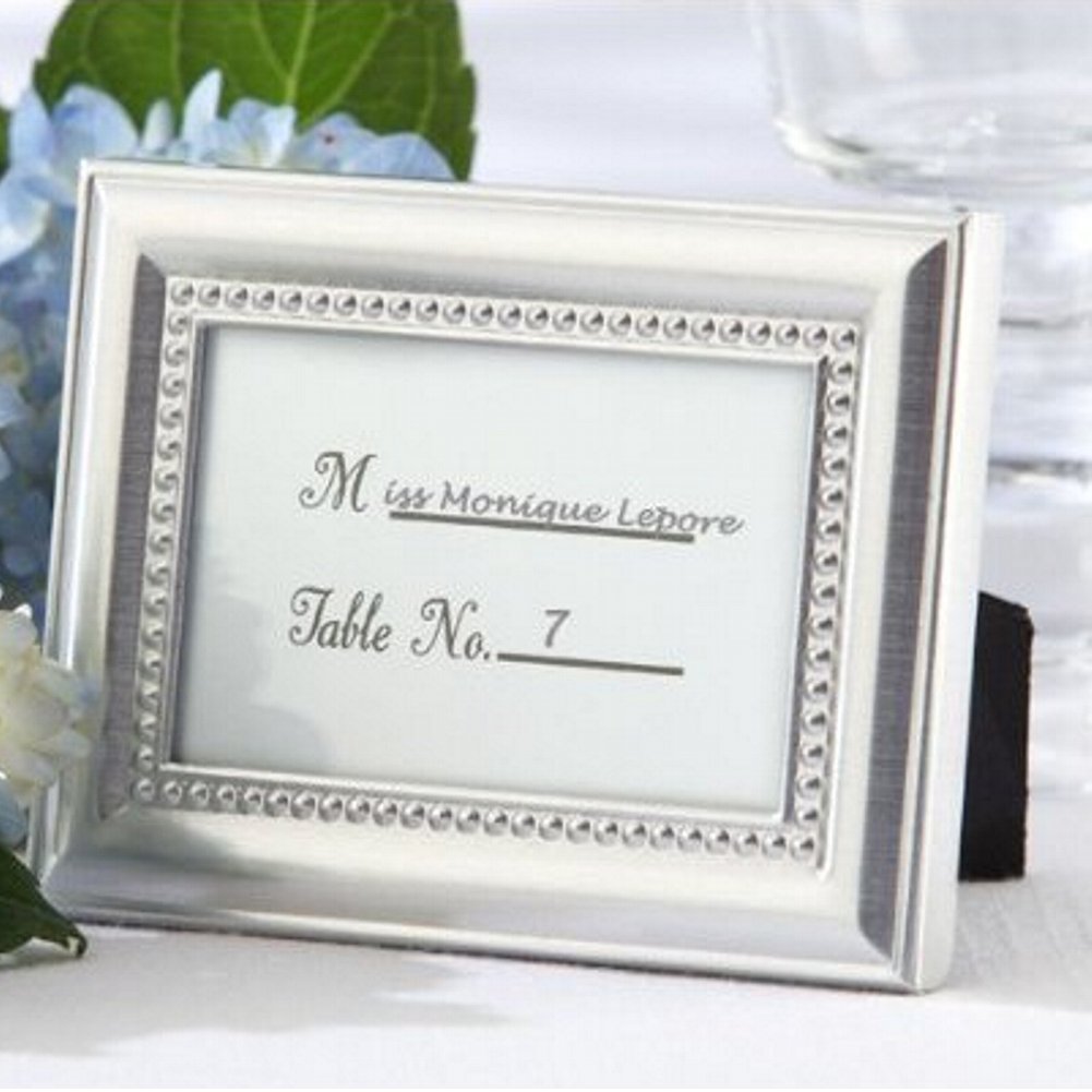 Beautifully Beaded Photo Frame/Placeholder As seen in the hit movie 27 Dresses (pack of 50)