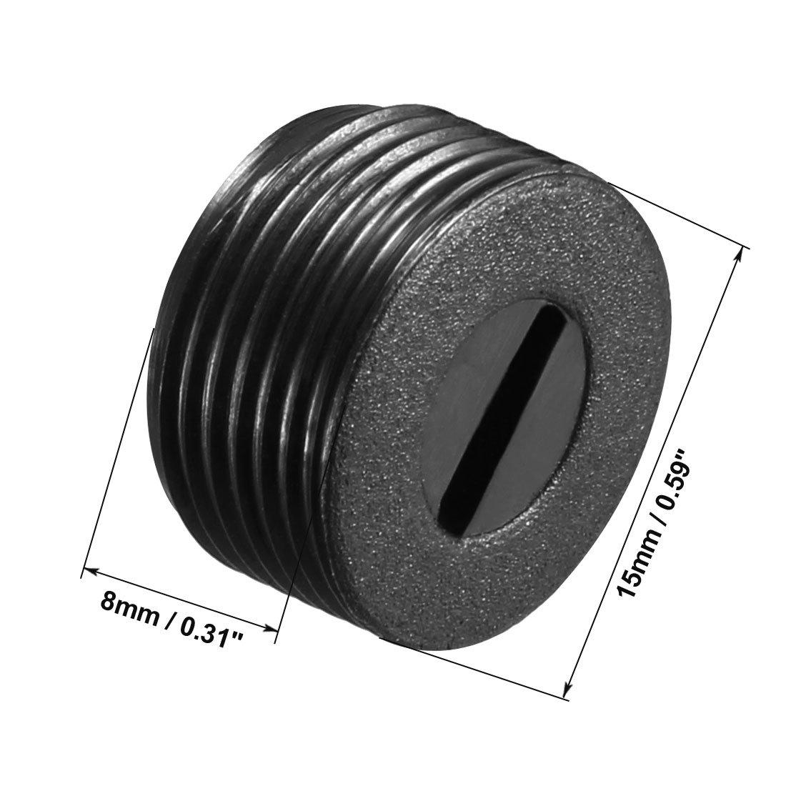 sourcingmap/® Par 9x5x4mm Cepillos de Carbono Herramienta el/éctrica para motor de taladro percutor el/éctrico