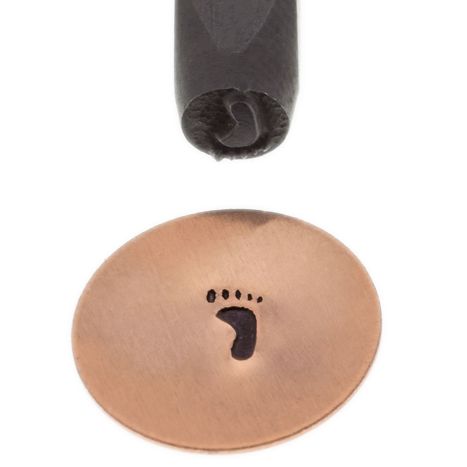 Elite Design Stamp, Solid, Right Footprint | PUN-202.49 by EURO TOOL