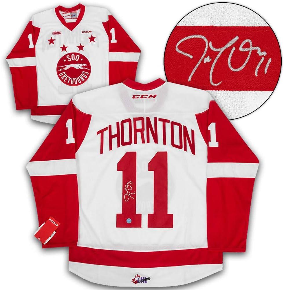 joe thornton signed jersey