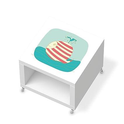 Your Design adhesivos para Ikea Lack – Mesa auxiliar con ruedas, muebles umgestalten Design –