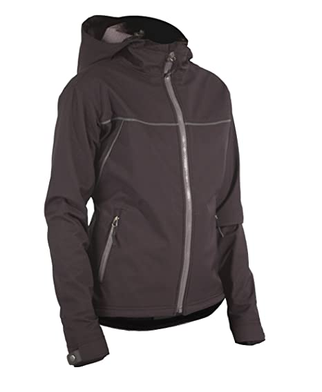 df0c076860a713 Showers Pass Waterproof Breathable Women s Soft Shell Rogue Hoodie (Black