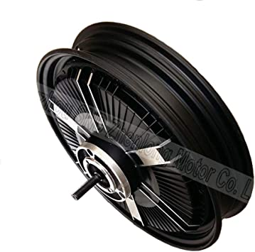 GG Boom 16inch Full Plate 60V-72V 1500W Electric Scooter and Bike Wide Voltage hub Motor