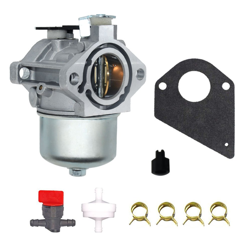 Oil Switch 699831 Karbay Carburetor for Briggs /& Stratton 699831 694941 Lawn Tractor Mower Carb With Gasket Fuel Filter