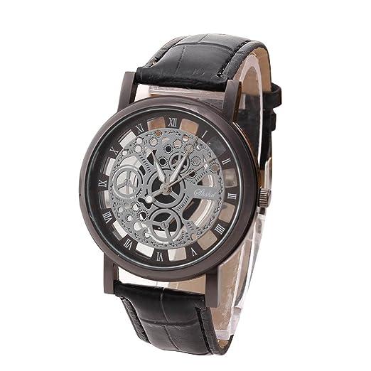 Relojes Hombre de Moda Reloj de Pulsera Hombre Deportivos Hombres de Lujo de Acero Inoxidable de