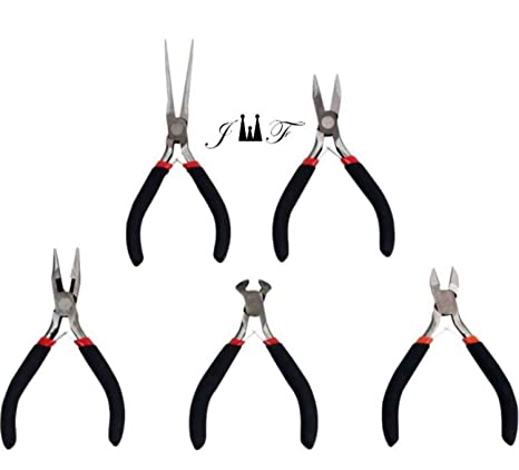 4 5 Mini Flat Nose Long Nose Pliers End Cutters or