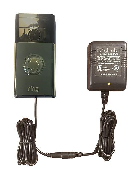 ring doorbell transformer kit