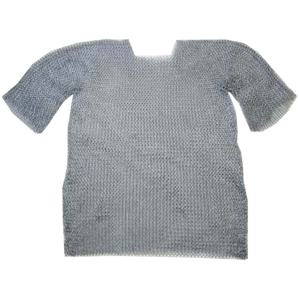 Chainmail Shirt W/ Full Sleeves Warrior's Costume - Wearable Costume Armor