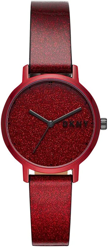 DKNY The Modernist Reloj de Mujer | NY2860 Color Rojo y Purpurina