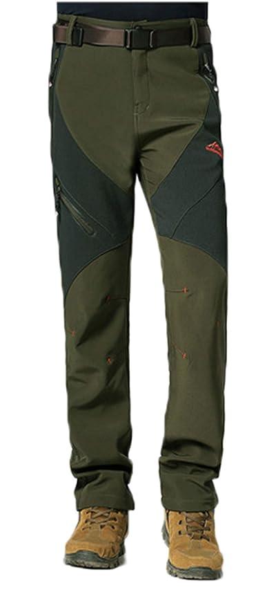 a708b689b6d TYOPKEHAI Winter Fleece Thermal Men Women Waterproof Pants Outdoor Sport  Trousers Camping Hiking Pants 5XL Plus