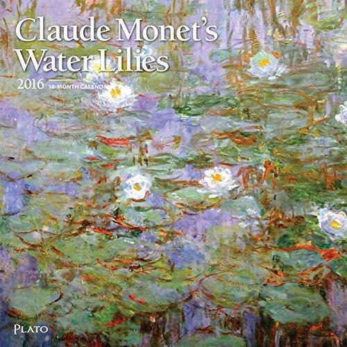 Claude Monet's Water Lilies - 2016 Calendar 12 x 12in