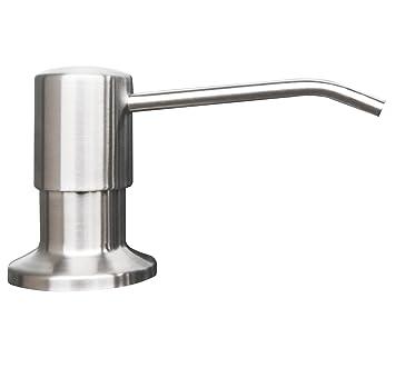 Korlon Stainless Steel Built In Pump Kitchen Sink Dish Soap Dispenser    Large Capacity 17 OZ