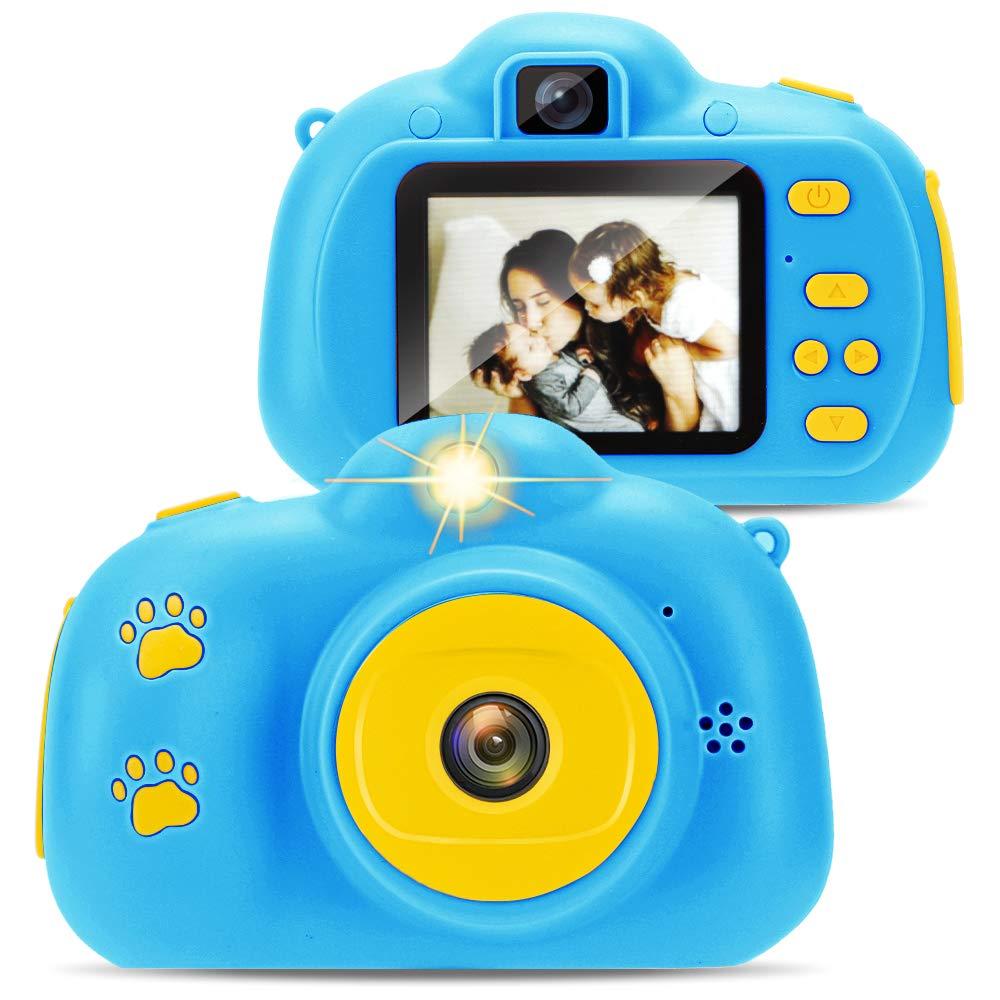 Yidarton Kids Toys Camera for 3-6 Year Old Boys Girls 1200 HD Video Camera Creative Gifts , Blue by Yidarton