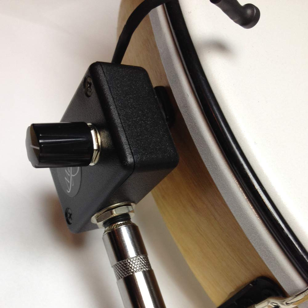 TUNABLE BODHRAN MICROPHONE with 6'' FLEXIBLE MICRO-GOOSE NECK by Myers Pickups ~ See it in ACTION! Copy and paste: myerspickups.com, Bodhran Microphone by Myers Pickups (Image #3)