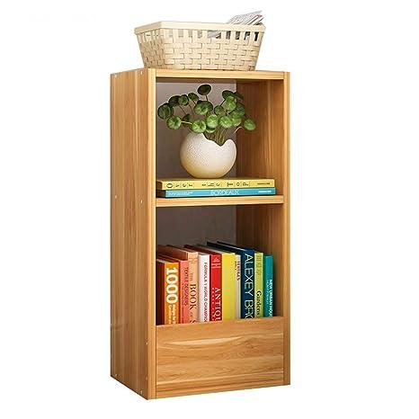 Amazon.com: Estantería de libros simple, estantería de suelo ...
