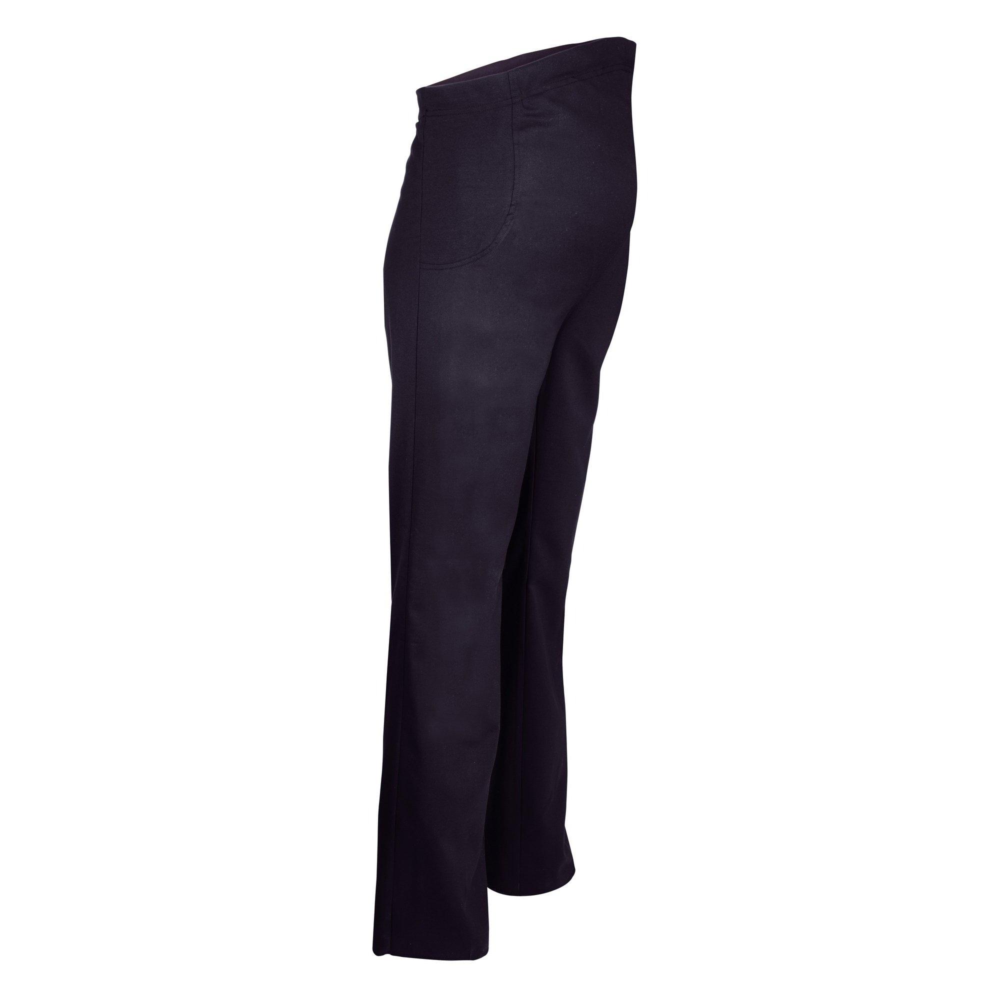 Alexandra Womens/Ladies Icona Stretch Elasticated Maternity Work Pants/Trousers (16U) (Navy)