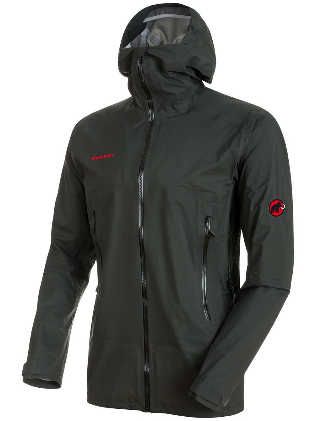 ◎マムート(MAMMUT) Masao Light HS Hooded Jacket メンズ 1010-25980-0121 ジャケット B07899T11Y XL|graphite graphite XL