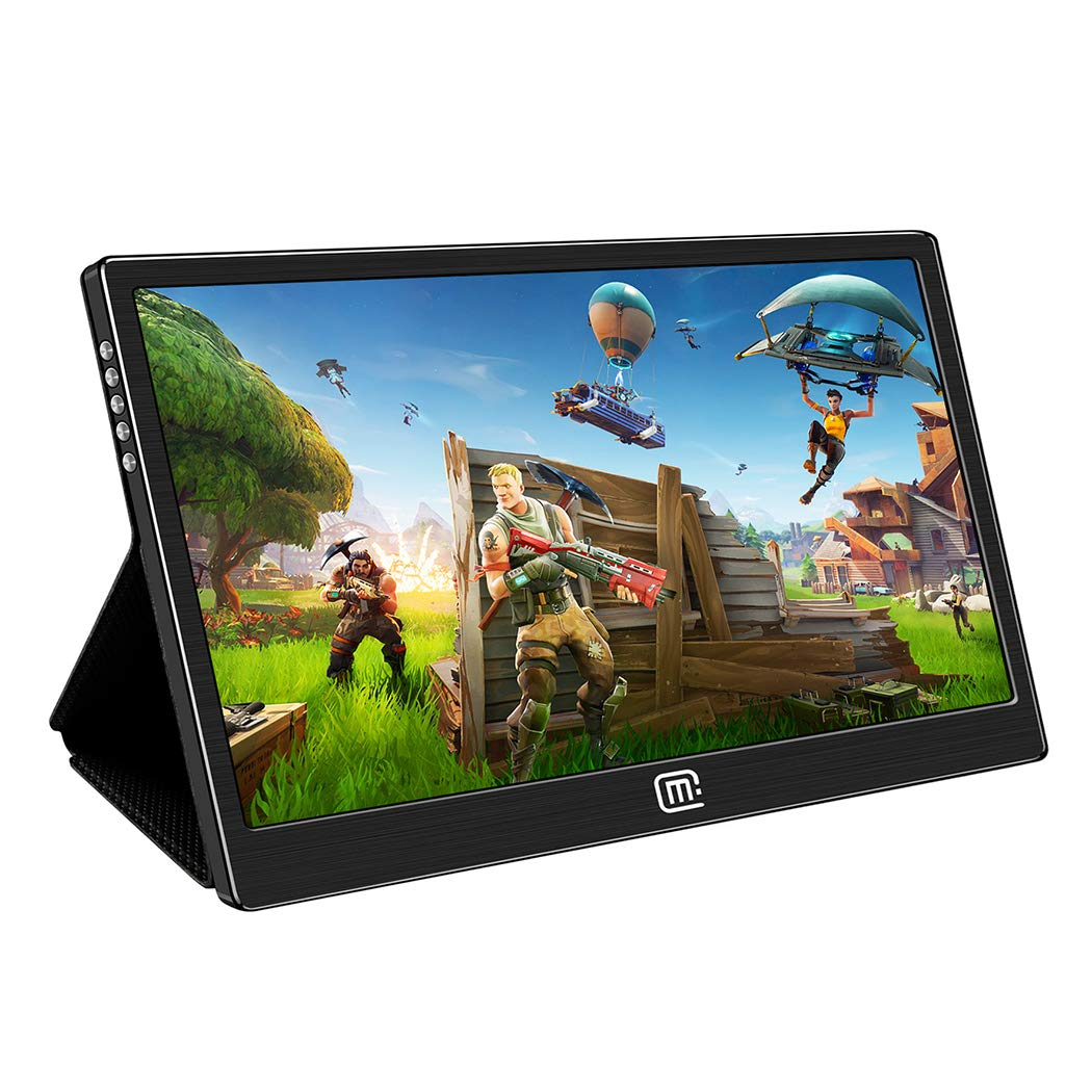 Portable Gaming Monitor for Nintendo Switch,13.3 Inch 1080p IPS Display,HDR USB C/Hdmi Video Input with Stand Case,Compatible with PS4 Xbox One and MacBook Matebook Surface Laptop Pc and More